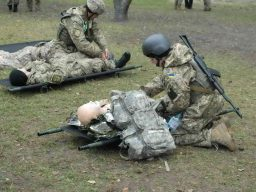 Розыск и вынос раненых